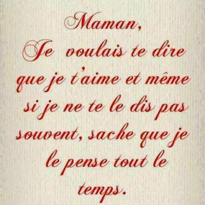 Une lettre d'amour pour maman