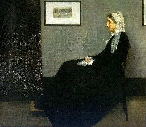 Whistler's Mother, james mcneil whistler