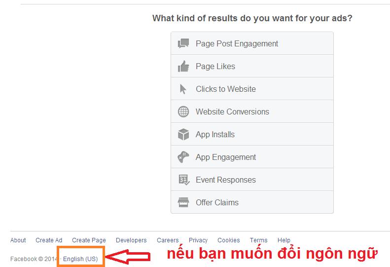 chọn page like