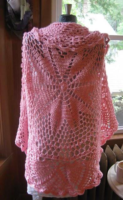 Tinas Allsorts Circular Crochet Shrug