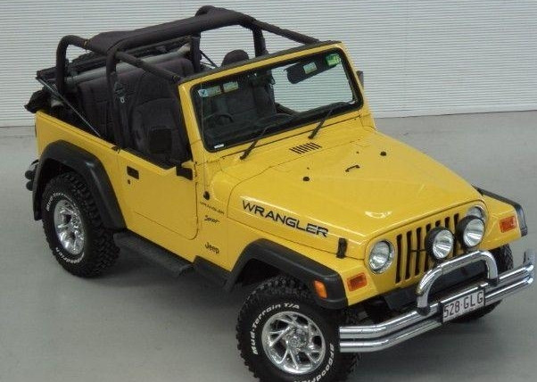 Jeep Tj Fctory 2000 2001 Service Manual