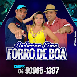 DIA 14 DE MAIO TEM ANDESON LIMA E FORRÓ DE BOM NO PROGRAMA CONEXÃO COM F.SILVA