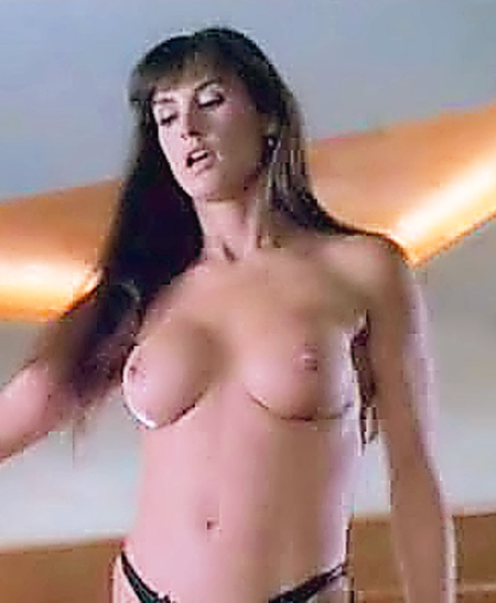 Demi Moore Topless Naked Strip Tease