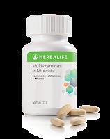 Multivitaminas e Minerais Herbalife