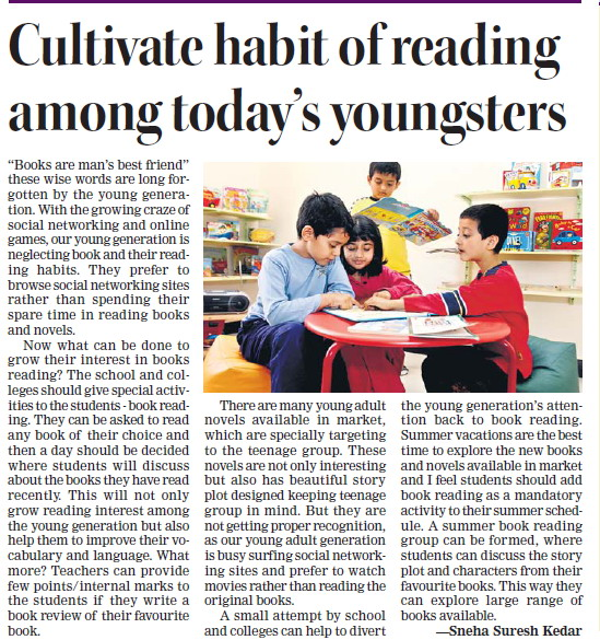 cultivating good reading habit Intentional training: cultivating good habits in charlotte mason recommended working on one habit at a time and concentrating on it for reading good books.