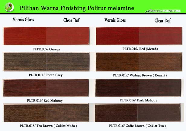 Warna Finishing Furniture Politur Melamine 2