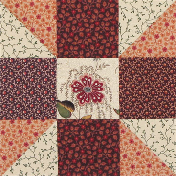 Civil War Quilts: 25 Calico Puzzle