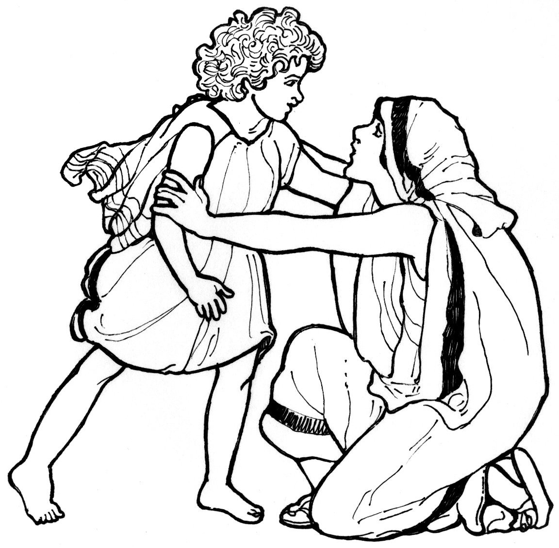 Free Samuel And Eli Coloring Pages Samuel And Eli Coloring Page