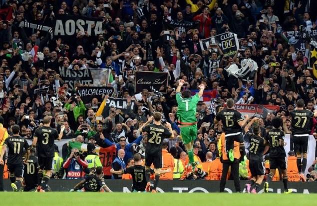 Juventus vs Borussia Mönchengladbach Champions League 2015