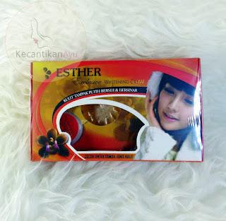 Cream Esther BPOM Perawatan Wajah