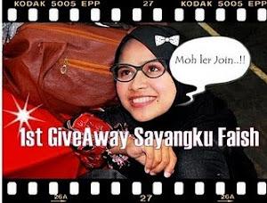 1st Giveaway SayangKu Faish~MENANG no.4!!!