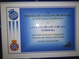 Record commemoratiu de la FCPE 2012