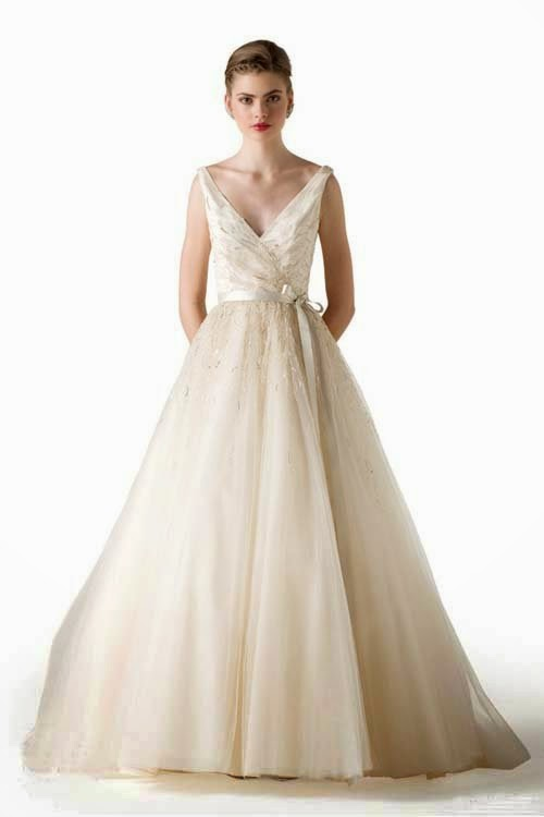 2015 Spring Wedding Dresses Ideas by Anne Barge