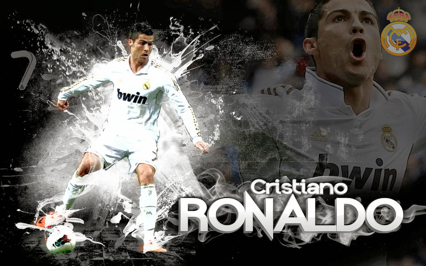 Wallpaper CR7 Cristiano Ronaldo HD