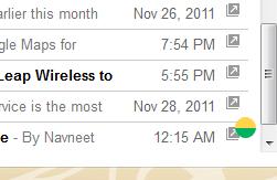 Google Reader recibe la característica Smooth Scrolling 38