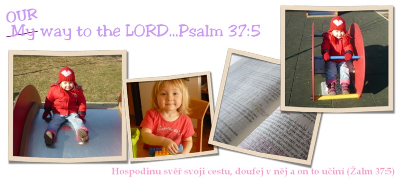 Our way to the LORD...Psalm 37:5