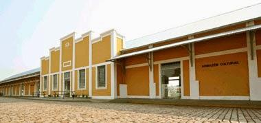 Antiga estação ferroviária - hoje Armazém Cultural