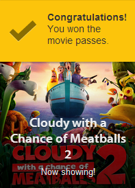 free, movie, pass, cloudy, with, a, chance, of, meatballs