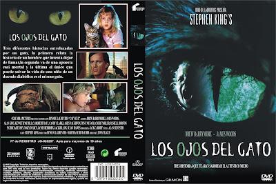 Los ojos del gato | 1985 | Cat's Eye | Carátula, Cover, Dvd
