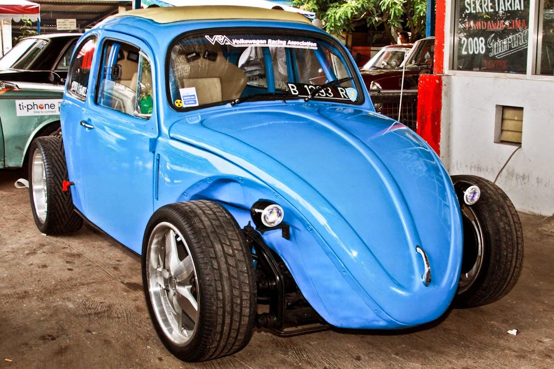 Modifikasi Mobil Volkswagen VW Blue