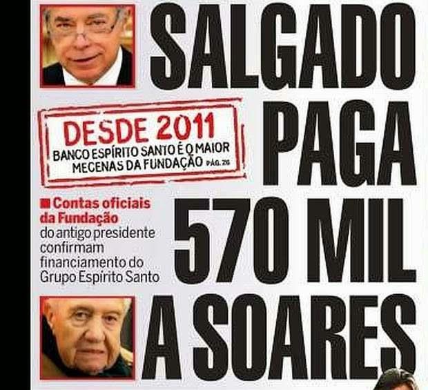 corrupção mario soares bes salgado