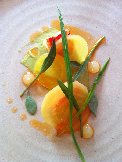 Simon Rogan's Great British Menu - Lobster