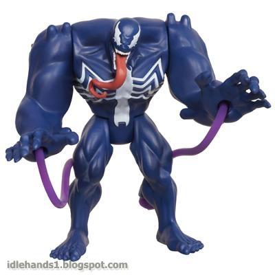 Toy Fair 2013   Hasbro s Ultimate Spider-ManUltimate Venom Spiderman