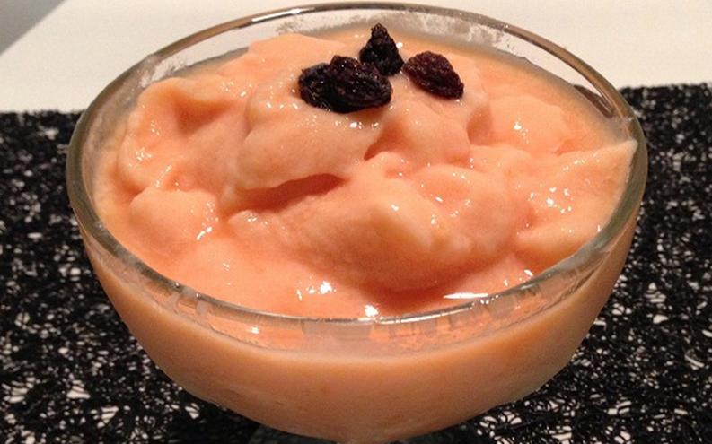 Frozen iogurte de mamão light