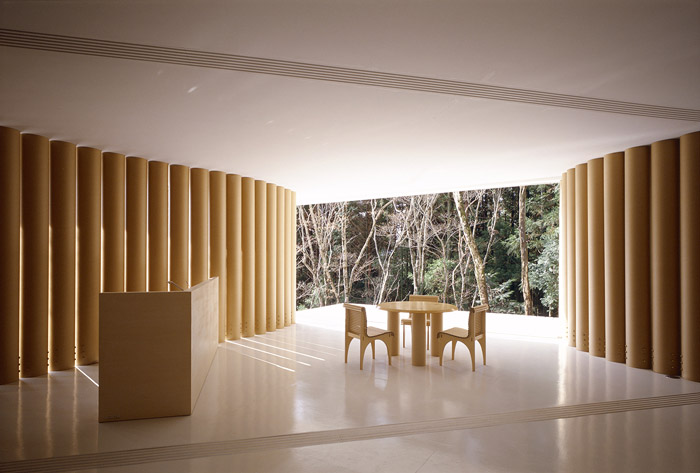 james pedersen paper house by shigeru ban. Black Bedroom Furniture Sets. Home Design Ideas