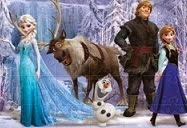 Puzzle de Frozen Una aventura congelada