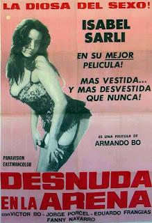 Desnuda en la arena 1969