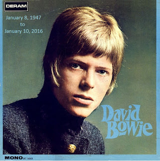 David Bowie January 8, 1947 to January 10, 2016