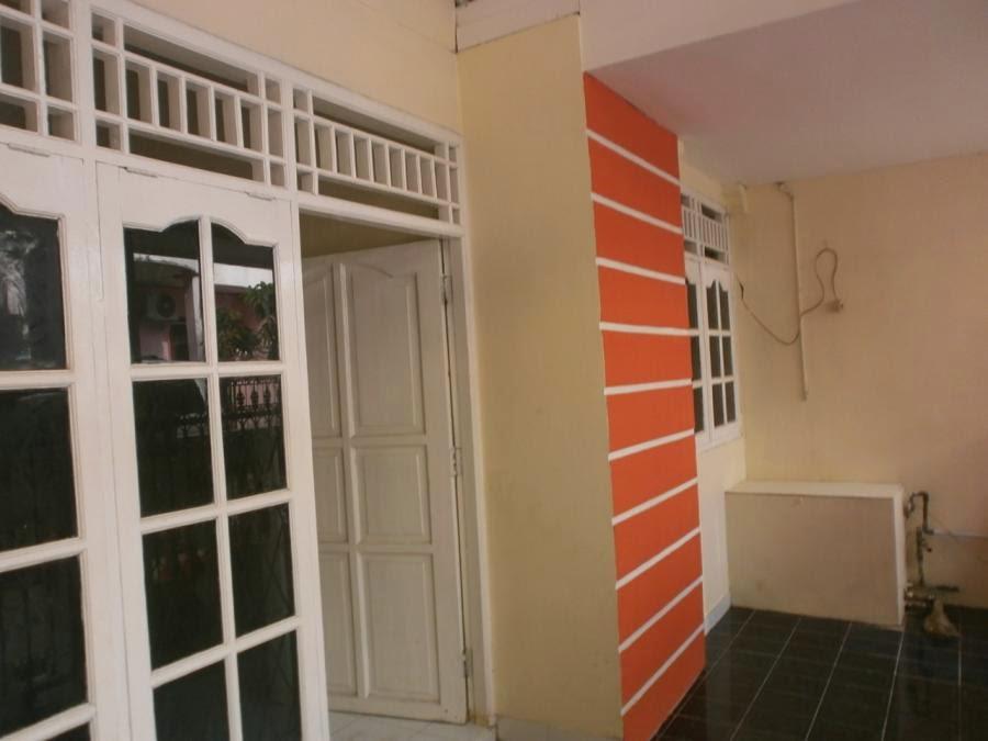 desain rumah minimalis tipe 21 dengan teras lebar rumah