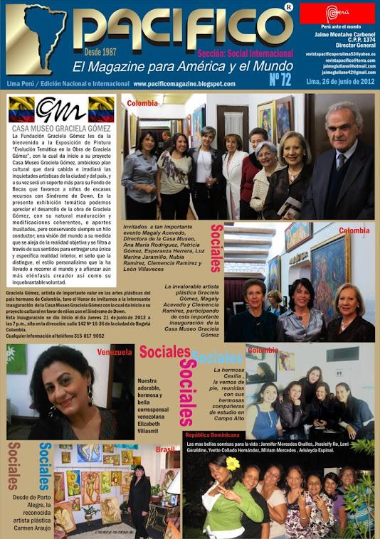 Revista Pacífico Nº 72 Social Internacional