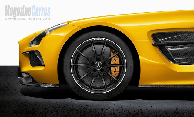Rodas do novo Mercedes-Benz SLS AMG Black Series 2014