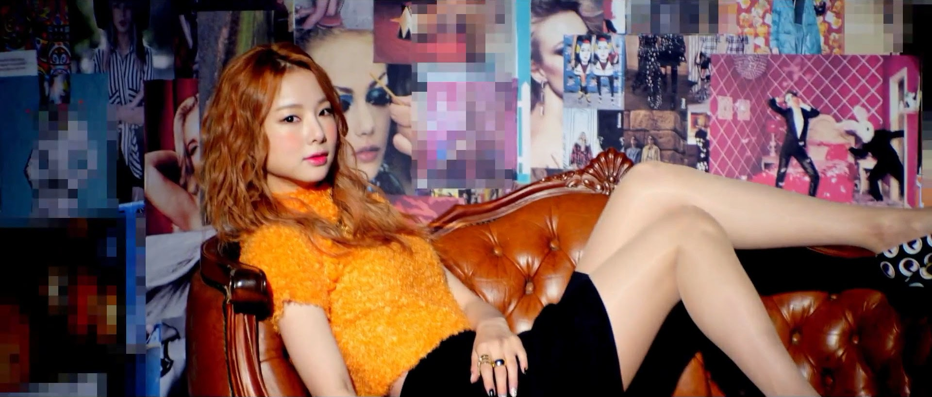 EXID's Solji in Ah Yeah MV
