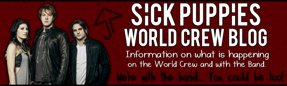 Sick Puppies World Crew Blog