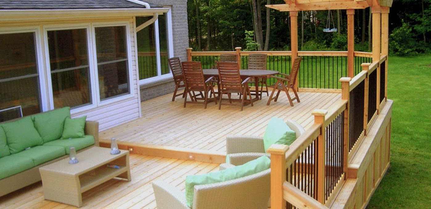 Small backyard deck ideas Small deck ideas