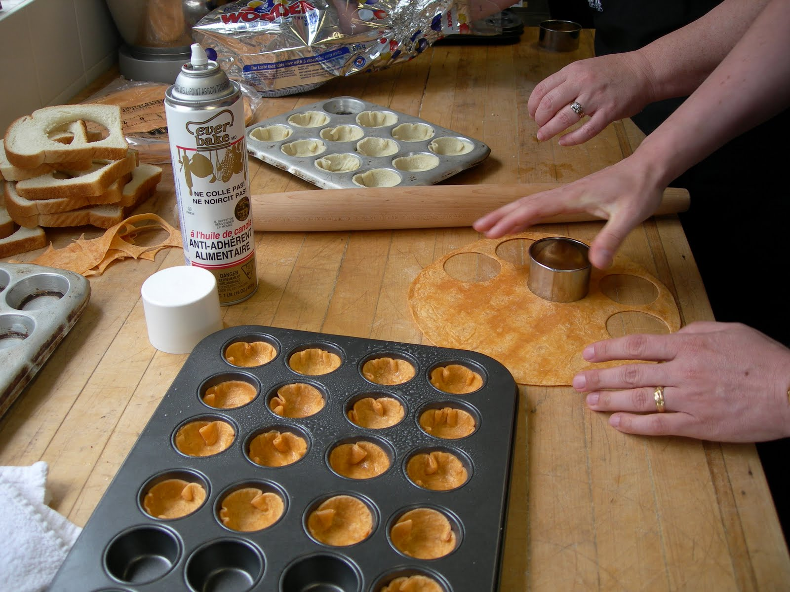 events at select service private canape class held at our ForHow To Make Canape Shells At Home