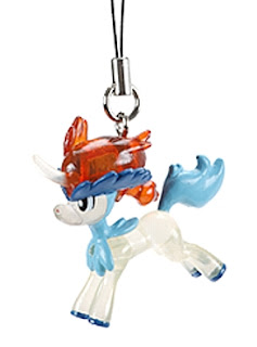 Pokemon Keldeo Figure Strap Clear Versioon Pokemon Fan Vol 23