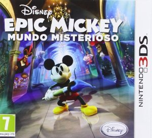 [N3DS] Epic Mickey : Mundo misterioso Spa,Eng,Fre,Ita,Ger EUR