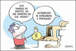 Criticas e Polêmicas. Brasil. Política de Impostos onera os mais pobres.