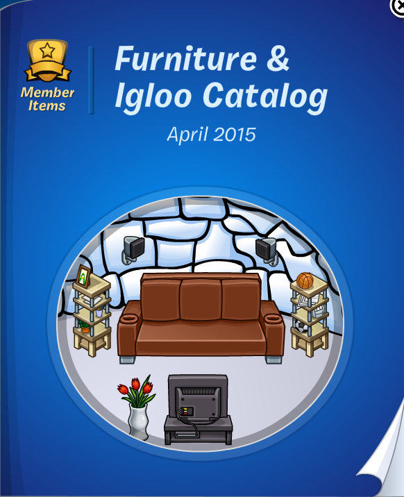 Club Penguin Furniture & Igloo Catalog Cheats April 2015
