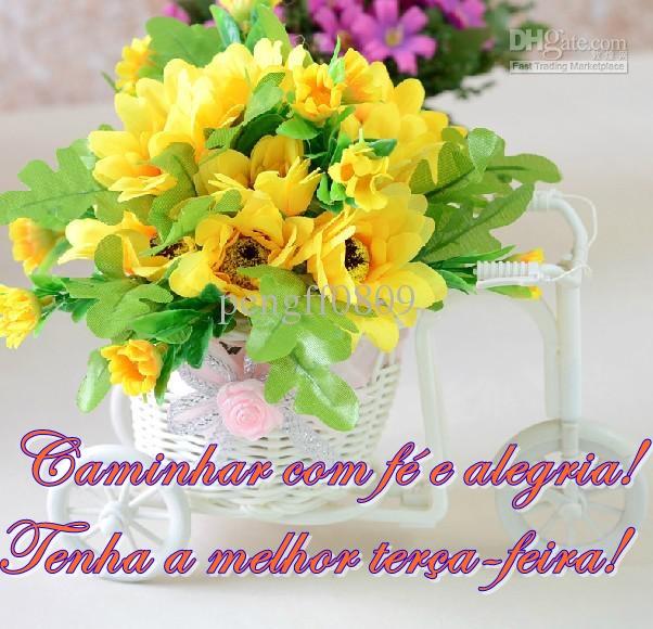 Tag Mensagem De Bom Dia Com Flores Amarelas