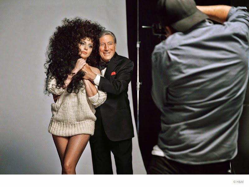 Lady-Gaga-Tony-Bennett-H&M-Christmas-2014-Campaign-Teaser