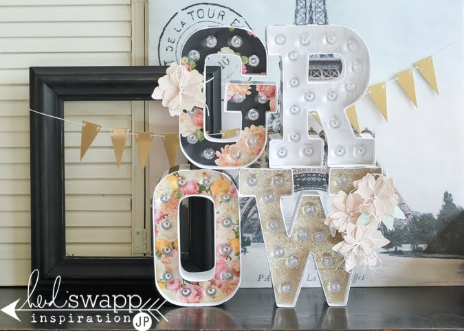 Word of the Year ~ Marquee Love | @jamiepate for @heidiswapp