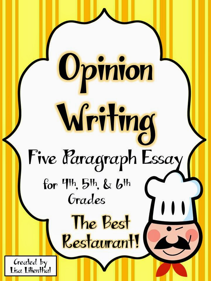essay writing for fifth graders