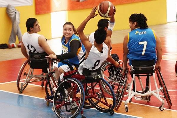 Habr torneo de baloncesto sobre silla en oaxaca m xico - Deportes en silla de ruedas ...