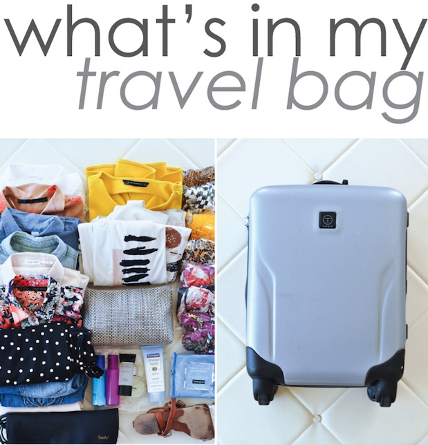 What's in my Travel Bag (Part II) | 9to5Chic