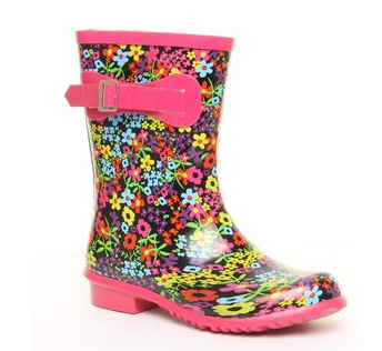 colored wellies